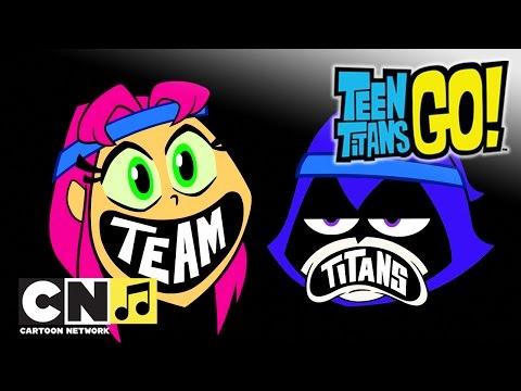Юные Титаны, вперед ♫ Команда Титанов ♫ Cartoon Network