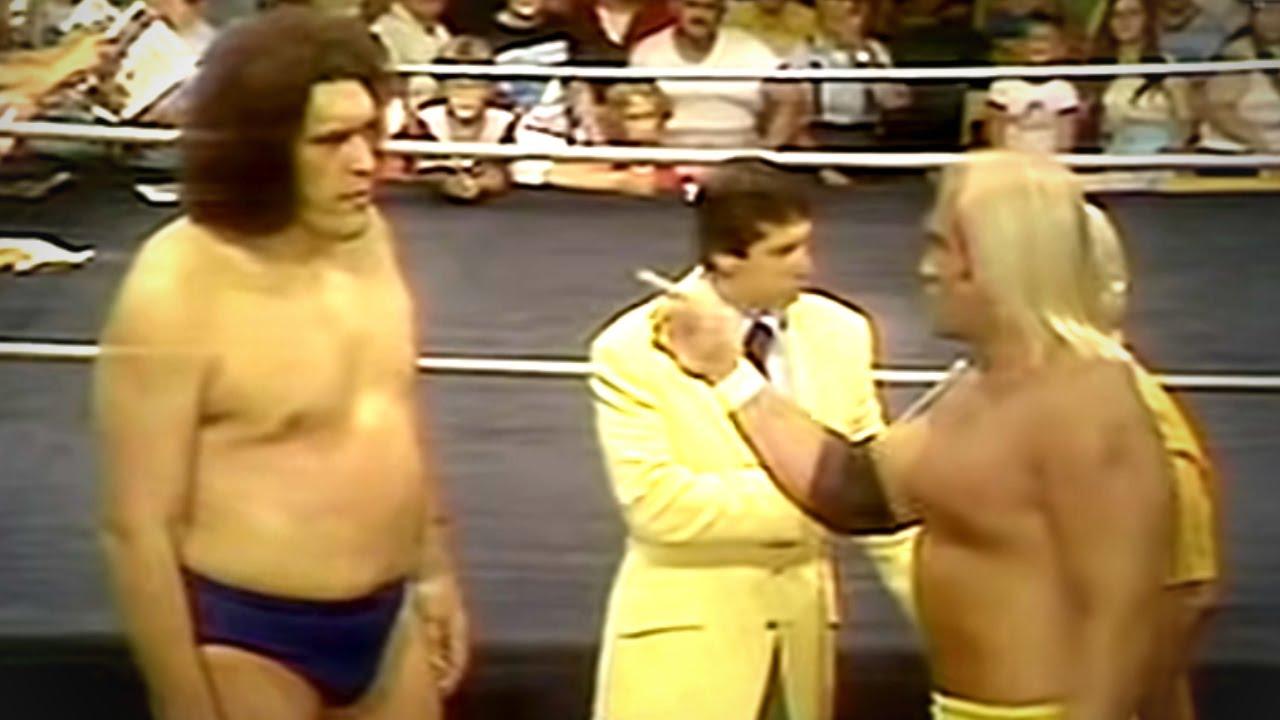officiel rigtig billigt fabrik autentisk WWE Classics- Andre The Giant meets Hulk Hogan