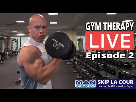 Gym Therapy LIVE - Episode 2 - The Ups And Downs When Going For Your Goals, Fitness Business Secrets