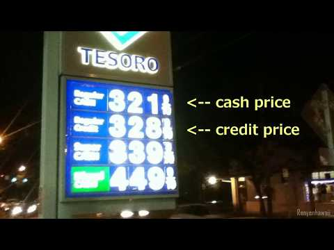 Cheapest Gas Prices location - Honolulu December 2014