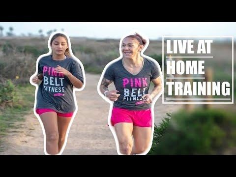 Live at home Fitness Training with Cris Cyborg Bellator MMA, UFC, Invicta, Strikeforce Champion