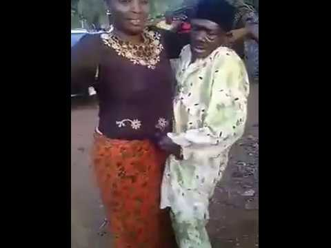 AFRICAN OLD MAN ROCK HER YOUNGER WIFE IN PUBLIC crazy africa