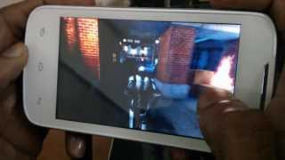 Gaming on LAVA 3G 402+