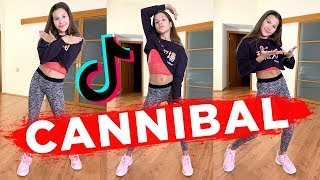 One of the most popular tik tok dances. cannibal dance tutorial. ❤️please subscribe: ►https://tinyurl.com/subscribetodanig by ke...