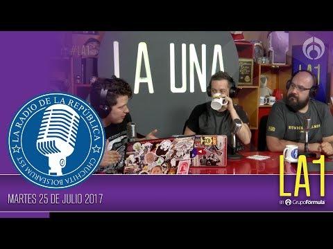 #LA1 - ¡Muchas noticias, pero lo que queremos es fiesta! - La Radio de la República - @ChumelTorres