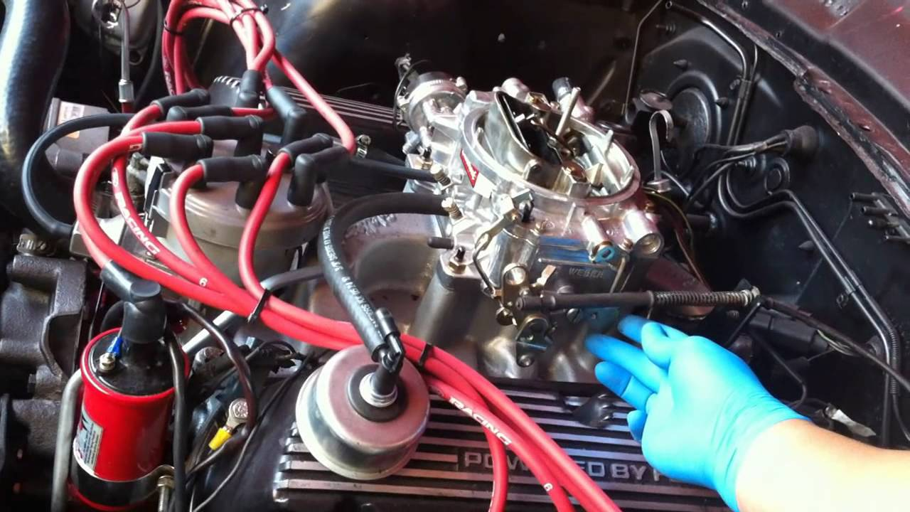 hight resolution of efi to carb 302 5 0 swap youtube 2000 mustang stereo wiring harness 93 mustang to carb wiring harness