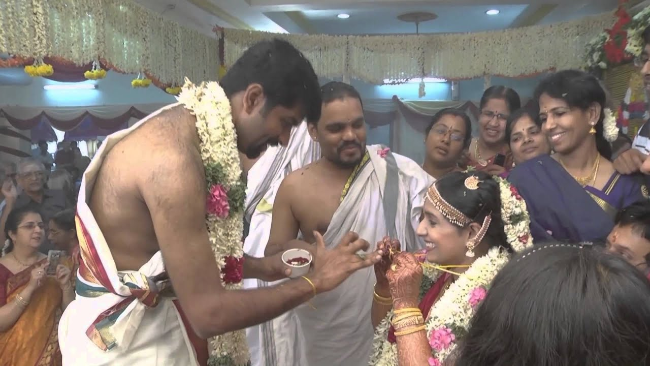 Rituals of a Brahmin wedding with voice-over explanations