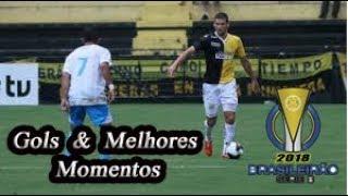 Criciúma x Avaí - Gols & Melhores Momentos Brasileirão Serie B 2018 27ª Rodada