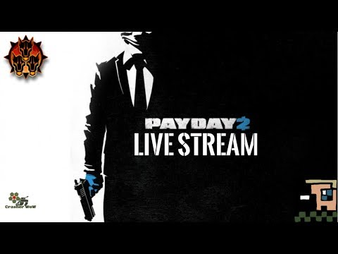 PayDay2 LIVE #2 - Doing great at guard dogs mission!