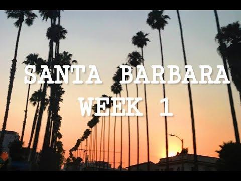 Santa Barbara Week 1