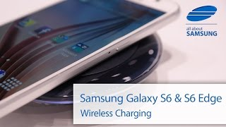 Samsung Galaxy S6 und Galaxy S6 Edge Wireless Charging deutsch HD