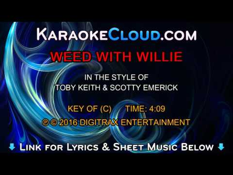 Toby Keith & Scotty Emerick - Weed With Willie (Backing Track)