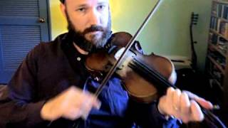 Old Time Fiddle Lesson-Paddy on the Turnpike (medium tempo/no bowing)