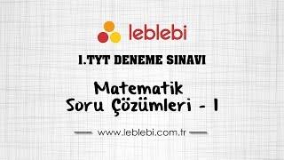 Gambar cover 1.TYT DENEME SINAVI / MATEMATİK - 1