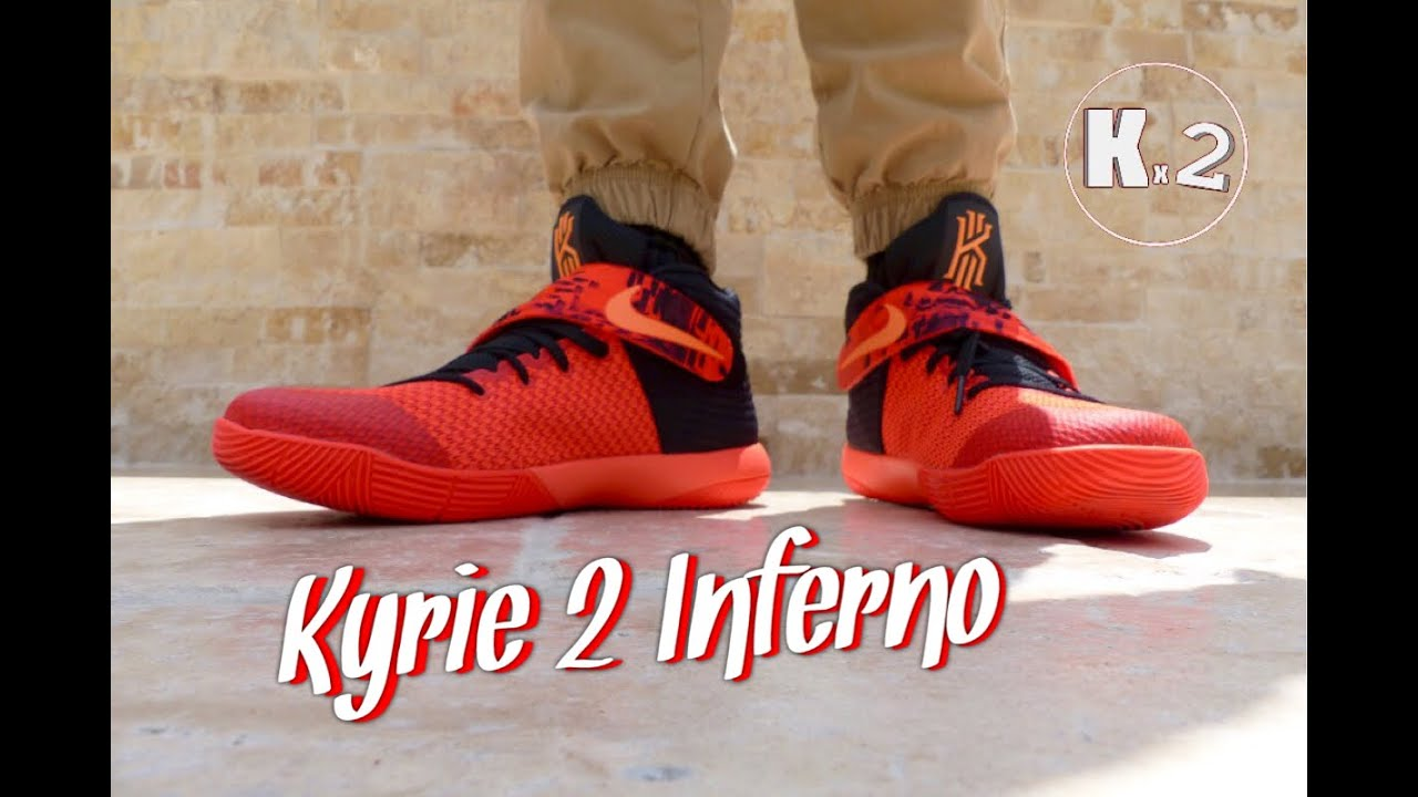 save off c6186 9bd9d Kyrie 2 Infrared Review + On Foot