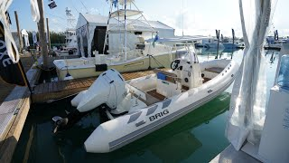 The diesel outboards are coming ! Oxe 150 hp on a Brig in Miami !