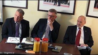 Debata o roli prezydenta Lecha Kaczyńskiego w likwidacji WSI (27.07.2015)