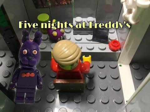 Five Nights At Freddy's/лего пять ночей с фредди анимация.Лего фнаф.Лего мишка фредди.Фнаф.Фокси.