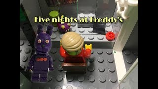 Скачать Five Nights At Freddy S лего пять ночей с фредди анимация Лего фнаф Лего мишка фредди Фнаф Фокси