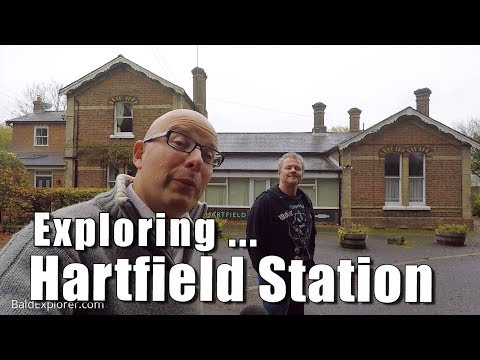 Walks in England: Exploring Hartfield Station, East Sussex