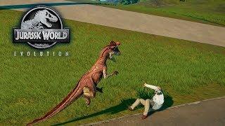 JURASSIC WORLD: Evolution | CARNIVOROS Andan SUELTOS! #6