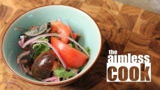 Century Egg Salad Recipe