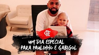 Um dia especial para Paulinho e Gabigol