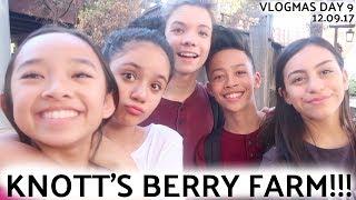 KNOTT'S BERRY FARM!!! VLOGMAS DAY 9 | Nicole Laeno