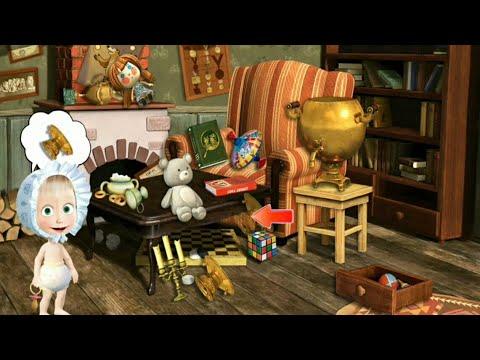 Masha E O Urso Sala De Bonecas Jogos Educativos Youtube