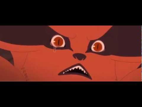 Kurama Cries Naruto