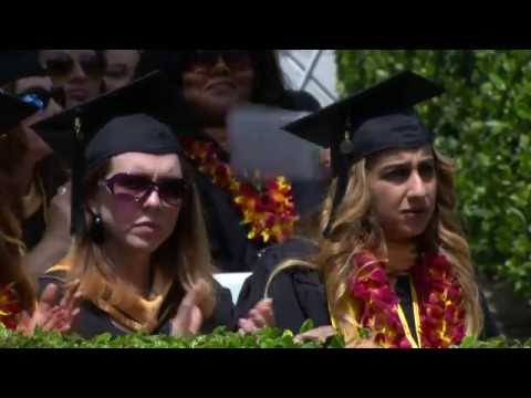 2016 USC School of Social Work Commencement – 11:00 am