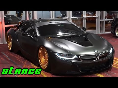 Bmw I8 Stance Modified Electric Car Porn Youtube