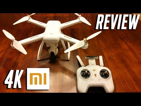 Xiaomi 4k Mi Drone Review and Test flight with Autel XSP comparison footage