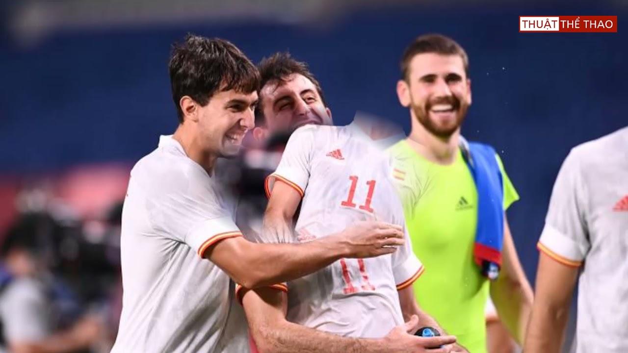 Kết quả bóng đá Olympic Tokyo 2020 hôm nay 3-8   Tây Ban Nha 1-0 Nhật Bản, Brazil 0-0 (4-1) Mexico