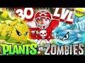 Растения против Зомби 2 КУКУРУЗОПУЛЬТА 30 уровня и АРБУЗ Plants Vs Zombies
