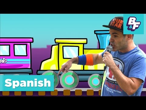 Learn the colors in Spanish with BASHO & FRIENDS [Episode Version] - Colores