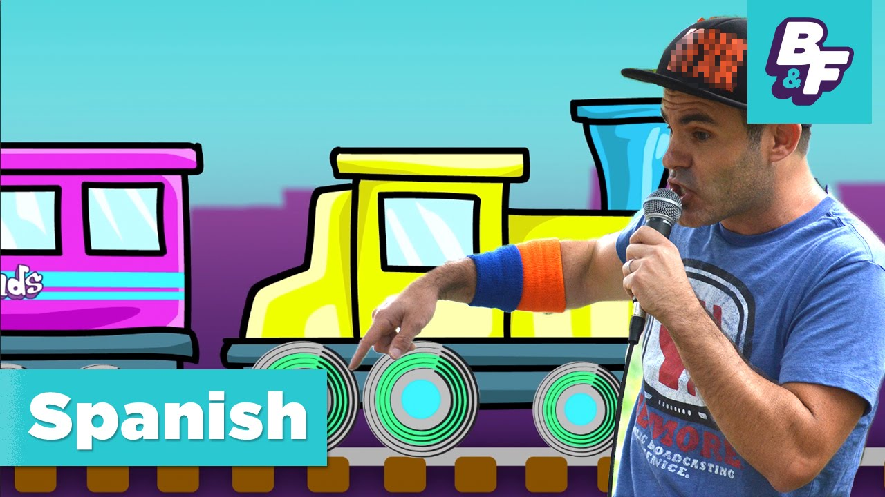 Learn The Colors In Spanish With Basho Friends Episode Version Colores