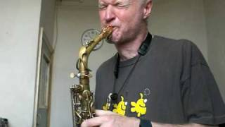 Mornington Lockett P. Mauriat 67RUL Alto Saxophone test with LAW Mouthpiece