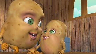 Aloo Kachaloo Bengali Rhymes for Children   আলু শিশুর আলু   The Potato Song   Infobells