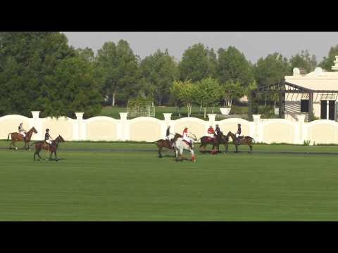 Habtoor VS Bin Drai in the Emirates Open Polo Championship 2015