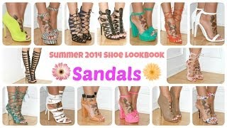 Summer 2014 Shoe Lookbook | Sandals +GIVEAWAY!!! Thumbnail
