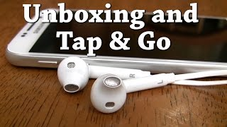 Samsung Galaxy S6 Fastest Setup Method (Tap and Go) and Unboxing