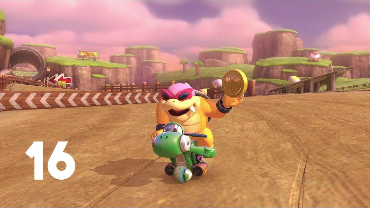 Mario Kart 8 Deluxe High Level Worldwide 16 Inward Bike