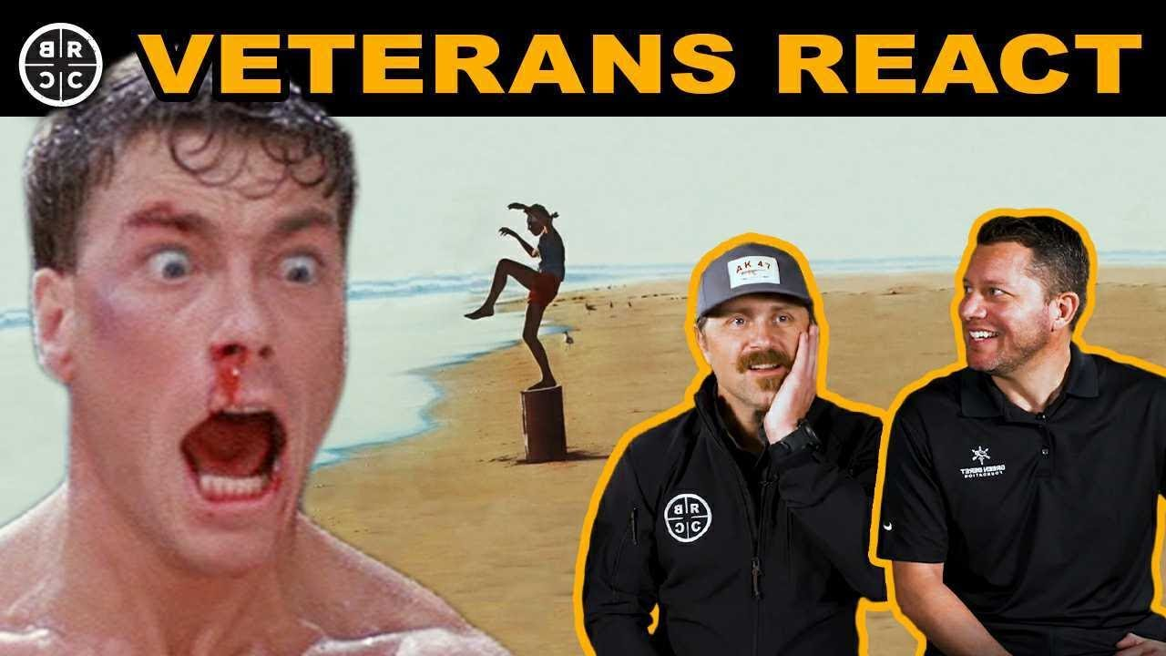Green Berets REACT to ACTION Movies: EP17