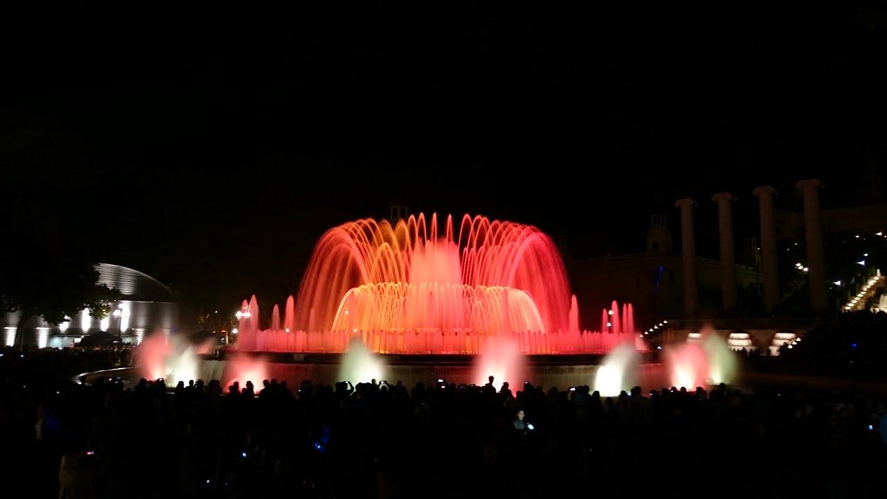 Resultado de imagen de fontaine montjuic