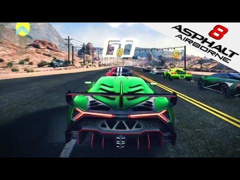 ASPHALT 8 | Lamborghini Veneno Gameplay (iOS/iPad Gameplay) Nevada | Asphalt 8: Airborne