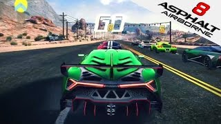 ASPHALT 8 | Lamborghini Veneno Gameplay (iOS/iPad Gameplay) Nevada | Asphalt 8: Airborne