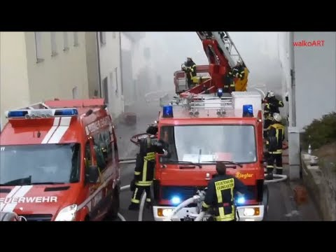 Festnahme Wohnhausbrand Part 1 House On Fire Einsatz Feuerwehr Kreis Heilbronn