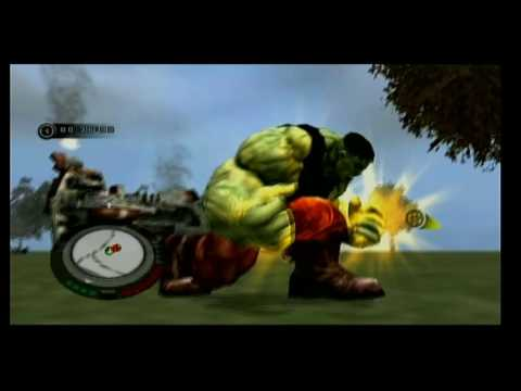 The Incredible Hulk Wii part 13 The Lesser Of Two Evils