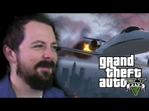 Sky Marshal! - Grand Theft Auto V is AWESOME! - Part 8